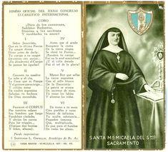 Clic en las imagenes para ampliar   Biografia de Santa Maria Micaela del Santisimo Sacramento