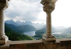 A view the Alpsee and Alpine foothills, seen from a balcony of Neuschwanstein Castle on May Original here. (Jay Tong/CC BY ND) # Flower Yellow, Throne Of Glass Series, Neuschwanstein Castle, H & M Home, Chronicles Of Narnia, Seen, High Fantasy, Legolas, Character Aesthetic
