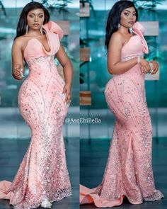 77 Edition Of - Aso Ebi Lace And African Print Outfits To Look Super Beautiful & Trendy Lace Dress Styles, African Lace Dresses, Latest African Fashion Dresses, African Print Fashion, African Clothes, Dinner Gowns, African Attire, Classy Dress, Dress Collection