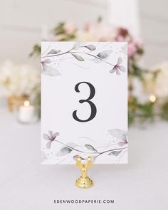 Printable Wedding Table Numbers Purchase, personalize, and print within minutes! Edit using the Templett app in your computer browser – no additional software needed! Please try demo and seek clarification before purchasing the template. FREE DEMO ━━━━━━ Boho Wedding Flowers, Boho Wedding Decorations, Wedding Ideas, Wedding Invitation Etiquette, Wedding Invitation Templates, Wedding Invitations, Wedding Seating, Wedding Table Numbers, Wedding Stationery Inspiration
