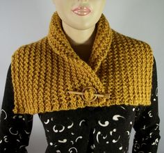 KNITTING PATTERN COWL Boston Cowl Shawl Scarf Pattern Instant