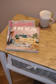 Asztal felújítás / Table renovation. IKEA magazin.