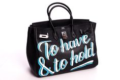 496f87defb2 Hand painted Hermes Birkin by Laurie lee - I died and went to Birkin heaven