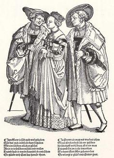Artist: Pencz, Georg, Title: Braut zwischen den beiden Brautführern, Date: ca. 1531
