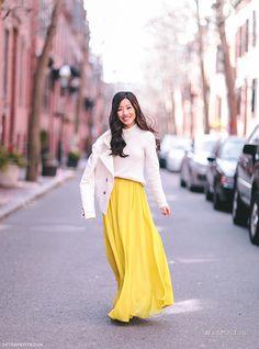 Уличная мода: Лучшие образы из модных блогов за неделю: Анна Вершинина, Евгения Эплбум, Kat Tanita и другие