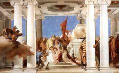 Tiepolo - IL SACRIFICIO DI IFIGENIA - 1757- VILLA VALMARANA, VICENZA