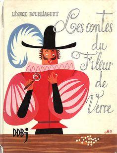 Les contes du fileur de verre  Illustrations: Etienne Morel by Denis Goulet, via Flickr