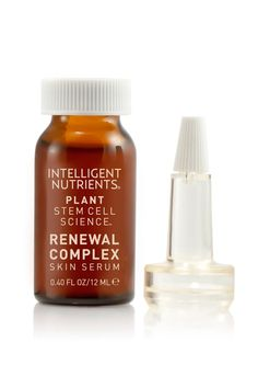 Organic Skin Care: Intelligent Nutrients Plant Stem Cell Science Renewal Complex-Target Treatment