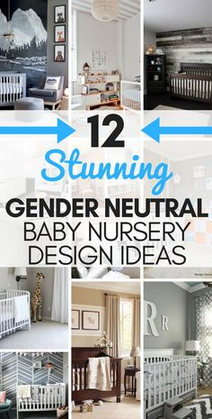 Here are some AMAZING gender neutral baby nursery designs and ideas. One of the things I enjoy most about preparing for a new baby is getting the nursery ready. In my ho Baby Nursery Themes, Baby Room Decor, Nursery Ideas, Nursery Inspiration, Room Ideas, Newborn Nursery, Room Baby, Newborn Babies, Decor Ideas