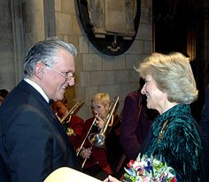 The Duchess of Gloucester, in her role as Patron, attends the Parkinson's Disease Society's Carol Concert in Southwark Cathedral, London, 19 December 2006. © Parkinson's Disease Society