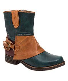 $49.99 Blue Amanda Boot #zulilyfinds