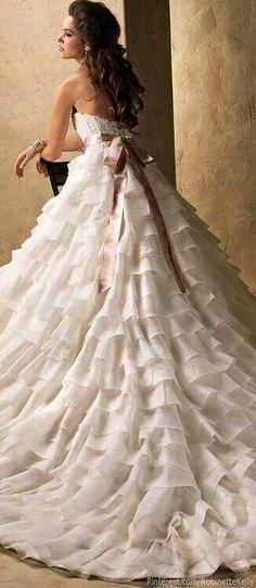 Beautiful wedding dress jaglady