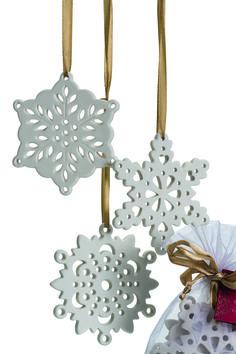 Flocons en céramique à parfumer Collines de Provence : Déco de Noël : 40modèles pour ne pas perdre la boule - Journal des Femmes