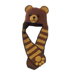Bear Scarf Hat
