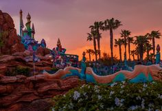 Mermaid Lagoon at Tokyo DisneySea. This and 50+ other photos from Tokyo in this Disney trip report.