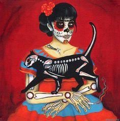 """""""Día de los muertos"""" de Irina Sidorowicz."""