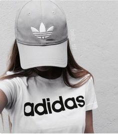 Hat: adidas, cap, grey, grey cap, adidas originals - Wheretoget