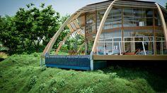 Une maison passive? Design? On adore!