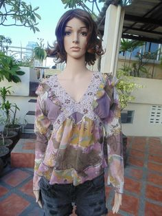 Vintage Fancy Beats Colorful Sexy Nightgown Lingerie Blouse  $8.00 USD Only 1 available  https://www.etsy.com/listing/190599451/vintage-fancy-beats-colorful-sexy?ref=shop_home_active_6  https://www.facebook.com/pages/Savvy-Ladies/796694807024977