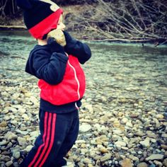 #strong #funny #toddler #shotput #shotputter #littleboy #cute#lol #lmao #appsmill #brantcounty #brantford #ontario #canada #outdoors #hiking #mothernature #river #water #portrait