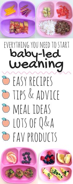 Everything you need to start Baby-Led Weaning. Essential tips and advice from a mom of two, the Everyday Baby-Led Weaning eBook is packed with tips and advice, easy meal ideas, first foods, best foods for blw 6-11 months, plus an extensive Q&A addressing all your questions about the baby-led weaning method! I'm also sharing my absolute favorite brands as well as my favorite products to cook with!