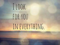 I do. The futility of love.