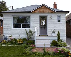 Real People Reno: A Young Couple Guts their 1940s Toronto Bungalow — Part 6, Curb Appeal | Blog | HGTV Canada