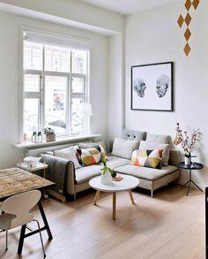 Ter um living compacto não significa ter que abrir mão do conforto nem da decoração que você sempre sonhou. Inspire-se na nossa seleção de ambientes!