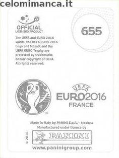 UEFA EURO 2016™ Official Sticker Album: Retro Figurina n. 655 Balázs Dzsudzsák