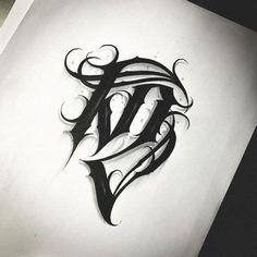 Chicano Tattoos Lettering, Tattoo Lettering Alphabet, Letter S Tattoo, Tattoo Fonts Cursive, Graffiti Lettering Fonts, Graffiti Alphabet, Lettering Design, Body Art Tattoos, Sleeve Tattoos