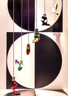 #OGILVY Spring/Summer 2013 #windows - @La Maison OGILVY #Shoes