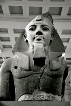 Rameses II at the British Museum, London (Beware, dork mode is approaching) *AHHHHHHHHHHHHHHHHHHHHHHHHHHHHHHHH!!!!!!!!!! xD