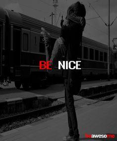 #BeNice