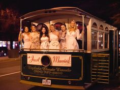 Wedding trolley picture
