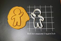 Gingerbread Man Cookie Cutter Made to order E0119 by CookieParlor, $5.99
