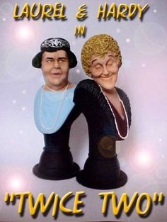 BUY: Laurel and Hardy  in Twice Two BUSTS