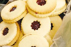 With a sweet jam centre, everyone will be thanking you for making these delightful cookies.