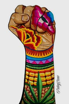 Do you love Mexico? This illustration representspeople or icons you can find in Mexican popular culture, from Frida KhaloLa Muerte, El luchador and the Mariach Mexican Artwork, Mexican Paintings, Mexican Folk Art, Art Chicano, Chicano Studies, Arte Latina, Latino Art, Urbane Kunst, Mexico Art