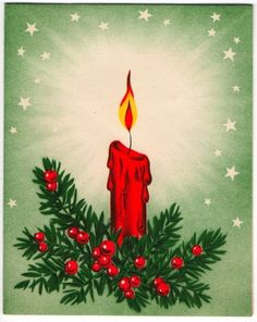 Vintage christmas candles – Etsy | vintage christmas candles ...