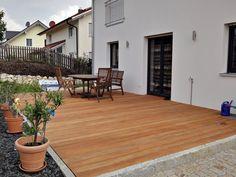 Terrassendielen aus Garapa von Holzhandel-Deutschland