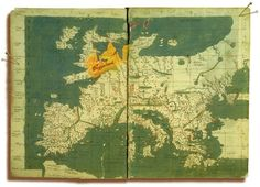 Very old map Europe Old Maps, Antique Maps, Historical Maps, Prehistory, Ancient Greece, Plans, Middle Ages, Warfare, Art World