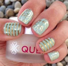Love our metallic wraps! Jamberry Nails are made to last 2 weeks on fingers and 6 on toes. How long does your mani/pedi last? http://jocosjamz.jamberrynails.net/