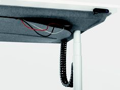 Tyde Desk, family of height adjustable work tables / Bouroullec Brothers