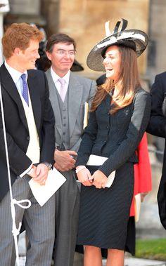 Kate Middleton y el príncipe Enrique: más que cuñados, amigos