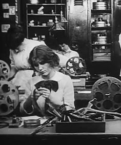 Women have been film editors since the beginning of cinema - Women in Film