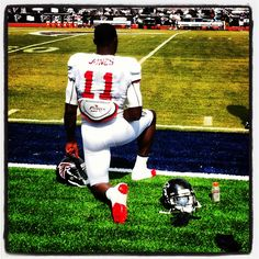 Julio Jones - he used to roll with the tide and now he RISES UP!! Love him!