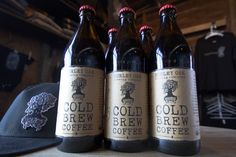The brewers at Burley Oak Brewing in Berlin, MD are brewing more than just beer these days, with a new line of Burley Oak Cold Brew Coffee. #coldbrew #coldpresscoffee #coffee