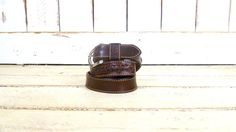 Dark red/oxblood woven leather by GreenCanyonTradingCo on Etsy, $38.00