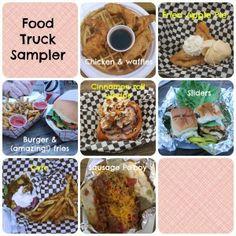food truck sampler- San Antonio food trucks