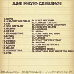 June Photo Challenge